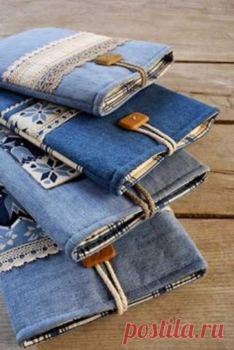 Стильные вещи из джинсов