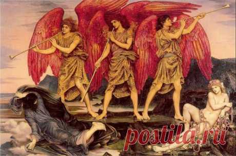 Очень сильный оберег трех ангелов от всех жизненных проблем!!! — Калейдоскоп чудес