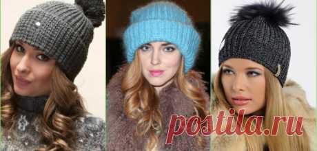 Как связать модную шапку спицами для женщины: пошаговые фото и видео инструкции вязания самых модных фасонов теплых зимних шапок и шапок на весну со схемами | QuLady