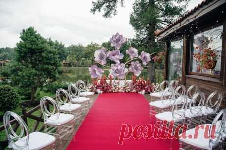 Яркие чувства: свадьба цвета фуксии 💖