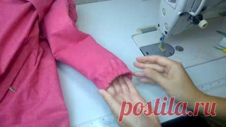 Обработка рукава куртки цельнокроеным манжетом на резинке ⭐  Выкройки бесплатно https://vikroykibesplatno.blogspot.com/⭐  ВКонтакте https://vk.link/kids_patterns--------------------------------------------🦋  Задать...