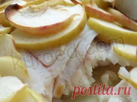 РЕЦЕПТЫ   Рыба, запeчeнная с яблоками