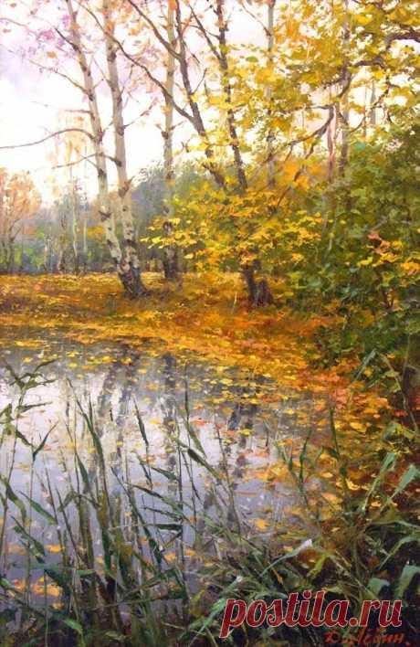 Русский художник. Дмитрий Лёвин   Фотографии Зима *********   395