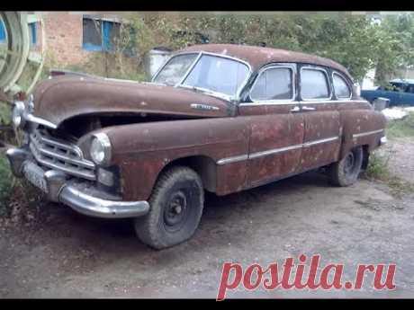 Купил Старый Газ 12 Зим  1950 года выпуска и Восстановил! Молодец МУЖИК !