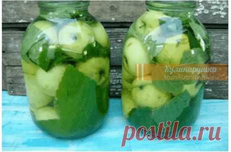 Очень простой рецепт. Моченые яблоки в банках Просто и вкусно!