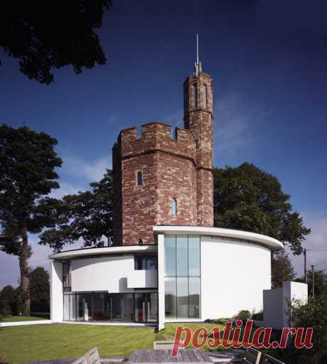 The house in a water tower (ETODAY Internet magazine)