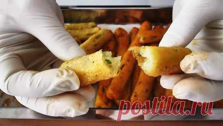 Вкуснейшие картофельные палочки, когда надоели чипсы и картофель фри Иногда хочется побаловать себя и близких жареной картошечкой. Приготовьте вместо нее это блюдо, и вы больше не захотите картофель в другом виде. Рецепт несложный, но очень вкусный. Ингредиенты: картофель – 750 гр.; черный перец – 2 гр.; тимьян –2 гр.; кукурузный крахмал – 110 гр.; соль – 8