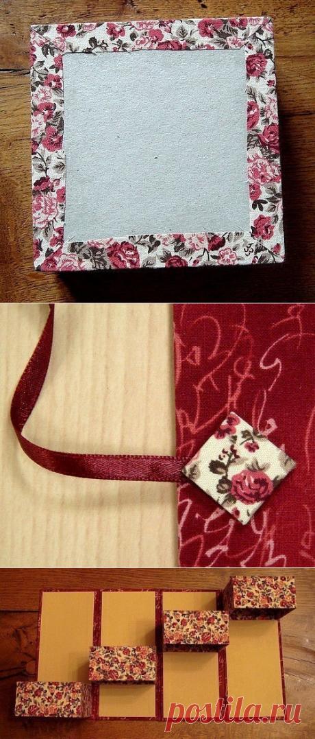 Красивая коробочка для мелочей