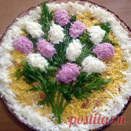 Украшение праздничных салатов