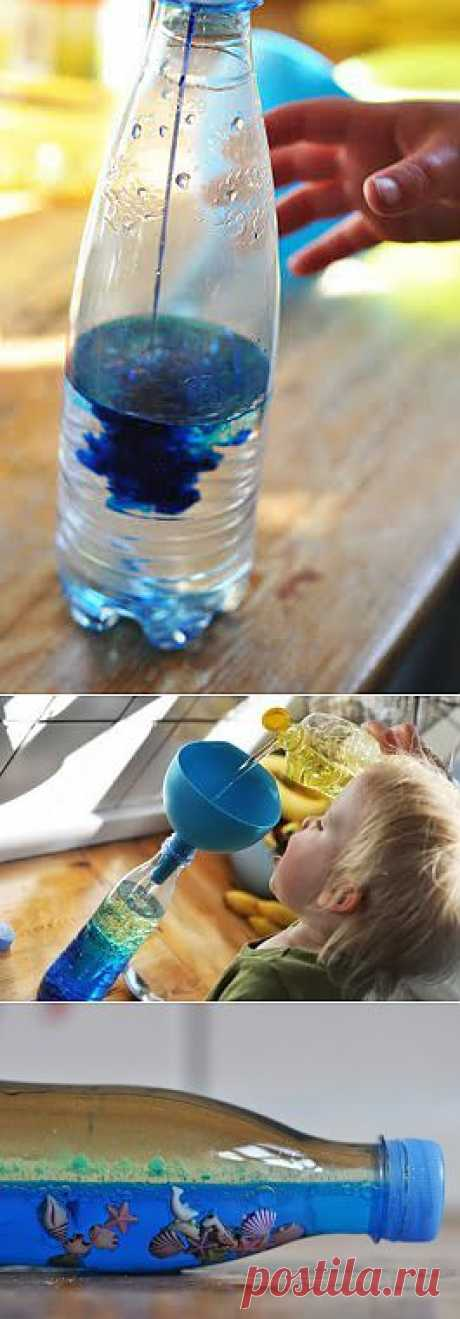 Sea waves in a bottle | the HANDS