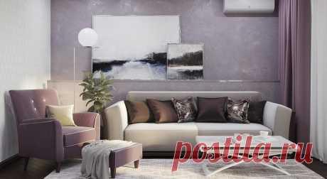 Как обои под покраску могут выглядеть в интерьере: 40 фото - Дом Mail.ru