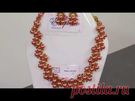 fb7e119ba712 Manualidad  Collar Ensamble de Piedras de Perlas - Hogar Tv por Juan  Gonzalo Angel