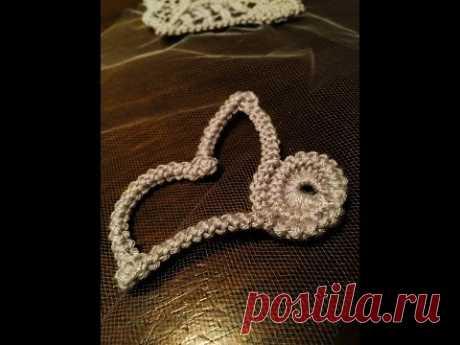 Crochet Pattern - Crochet Point Lace - circle - YouTube Узор вязания крючком - Кружево Точка вязания крючком - круг