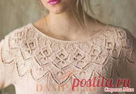 . Пуловер «Целозия» - Вязание - Страна Мам