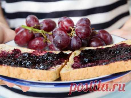 Ароматное варенье из винограда - Smak.ua