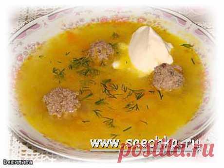 Щи из квашеной капусты с фрикадельками   Saechka.Ru - рецепты с фото