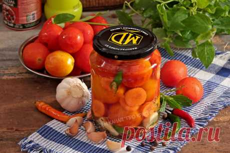 Закатка помидоров на зиму без стерилизации: показываю рецепт проще простого | ПРО красивости: косметика, кухня | Яндекс Дзен