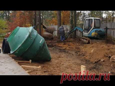 Осень-зима отличное время для монтажа канализации.