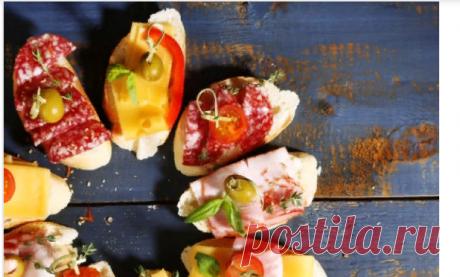 Бутерброды со шпротами на праздничный стол | Кулинарный блог с рецептами - статьи от Шефмаркет
