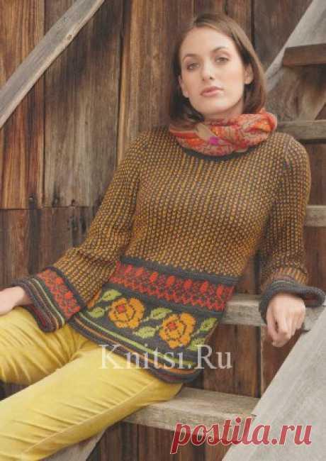 Вязание для женщин / Пуловеры / Спицами