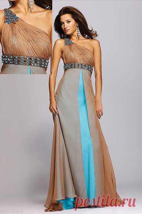 Вечернее платье  Арт № Sdk 04 Размер: XS,  S,  M,  L,  XL,  2XL Ткань: высококласный шифон , Swarovski