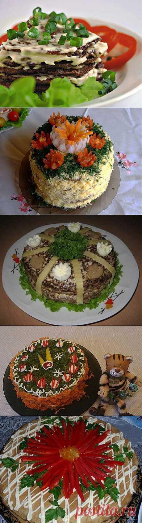 Печеночные торты: лучшие рецепты и идеи оформления / Простые рецепты