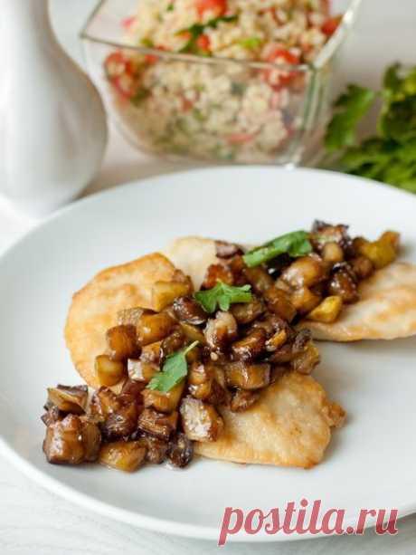 Рецепт куриных грудок с овощами и бальзамическим соусом на Вкусном Блоге