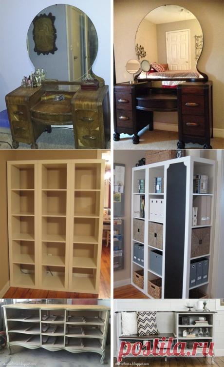 15 невероятных идей для переделки старой мебели / Я - суперпупер