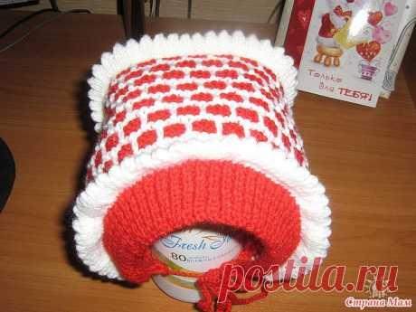 hat cap.: the photo in an album my vyazalka. - Country of Mothers