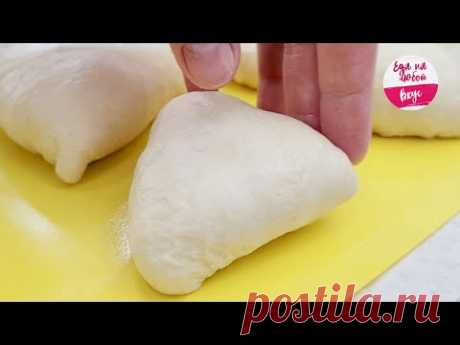 ПРОСТО ЗАМЕНИТЕ КЕФИР! Тесто для пирожков выйдет НЕЖНЕЕ и вкуснее (Лучшие Пирожки с двойной начинкой