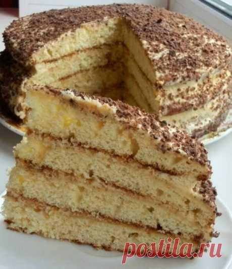 НЕВЕРОЯТНО вкусный и простой десерт (рецепт со сгущенкой и сметаной)
