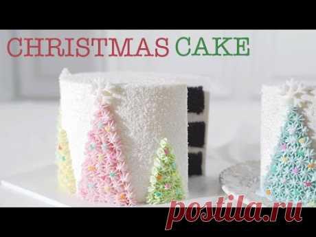 크리스마스 케이크 만들기 극강의 부드러움! 오레오맛 초코시트 /Amazingly Soft and Moist Christmas Cake/ Oreo Like