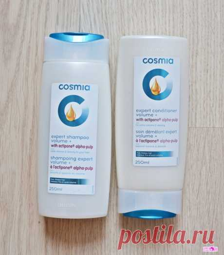Шампунь и бальзам для волос COSMIA Expert Volume (фото)