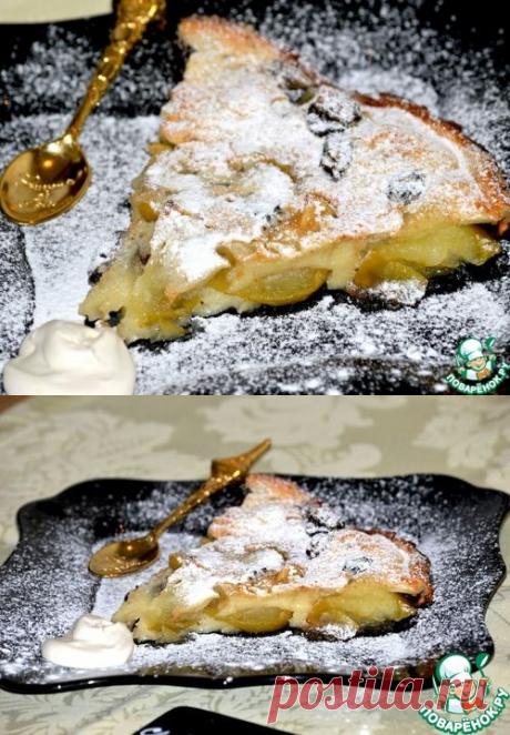Яблочный клафути – кулинарный рецепт