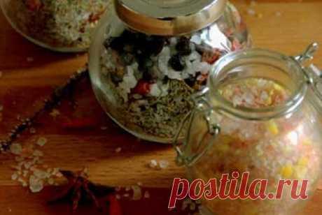 Домашняя ароматная соль