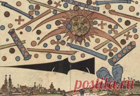 Ранние наблюдения НЛО » Параллельный мир