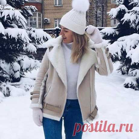 Женские куртки-дубленки 2019-2020 на Алиэкспресс — Алиэкспресс Обзор