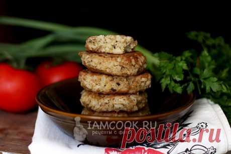 Котлеты из консервов сардины с рисом и картошкой, рецепт с фото