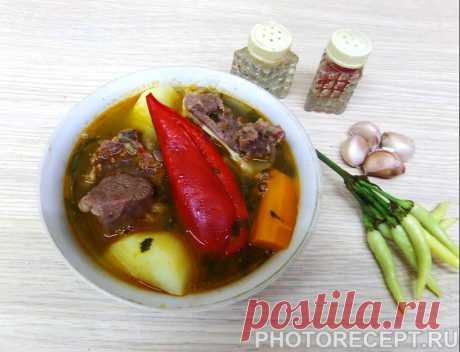 Шурпа - традиционный рецепт