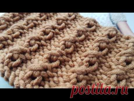 Вяжем ,,бомбический рубчик,, спицам. Не пропустите!!!📣 knitting pattern.