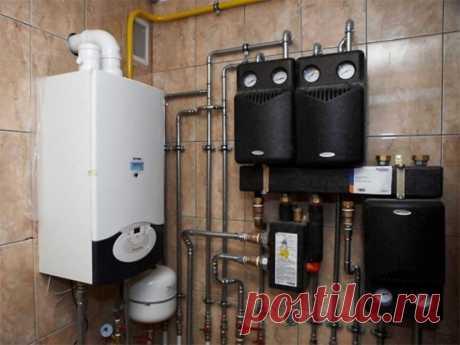 Водяное отопление в частном доме - принцип работы и инструкция устройства.