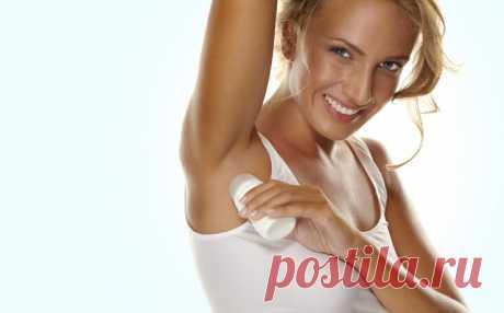 Ошибки использования дезодоранта | Делимся советами