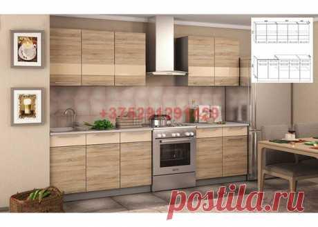 Кухня Олеся (дуб cонома) 2 м.: купить в Минске недорого, низкие цены, скидки, рассрочка