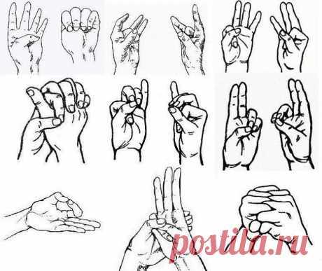 Наши пальцы могут делать более здоровым наше тело