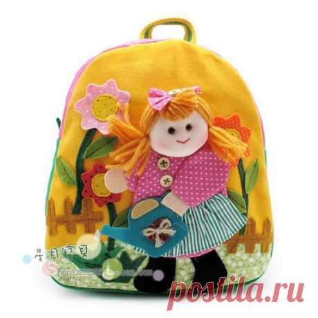 Милые детские рюкзачки - для вдохновения