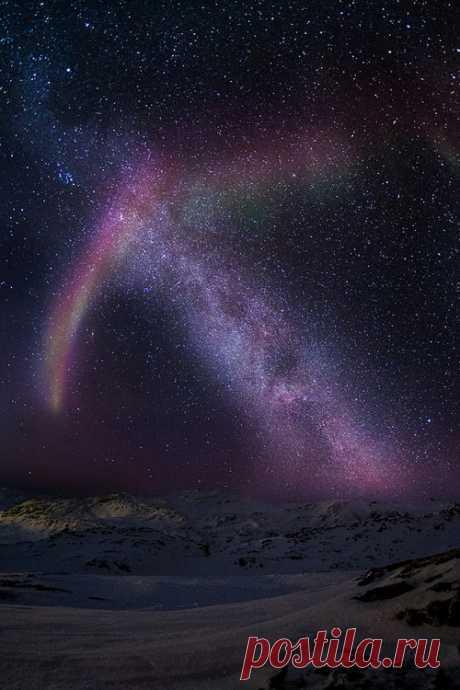 Embers at Dusk — benrogerswpg: Iceland, Aurora via Ben Rogers
