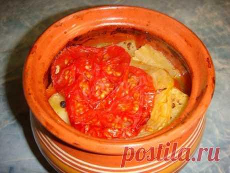 Чанахи в горшочках со свининой и картошкой рецепт с фото пошагово - 1000.menu
