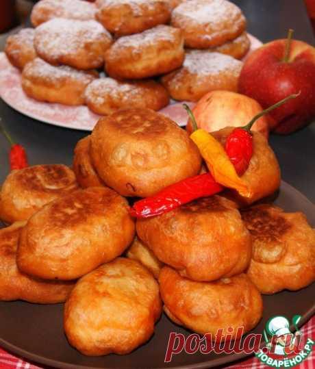 Пирожки из идеального дрожжевого постного теста Кулинарный рецепт
