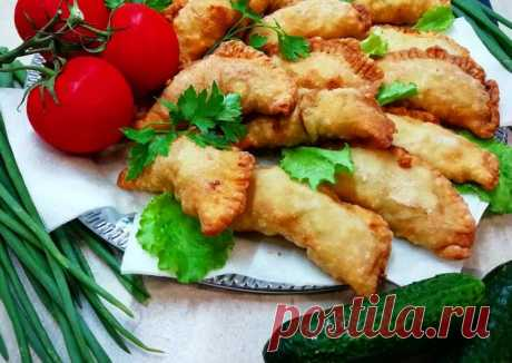 Чебуреки с мясом и сыром 🥟🥩🧀 - пошаговый рецепт с фото. Автор рецепта Аля Слизовская . - Cookpad