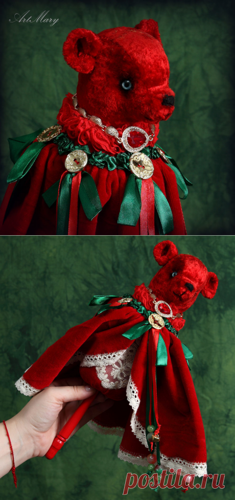Marotte Пуансеттия — Рождественский цветок | Журнал Ярмарки Мастеров
